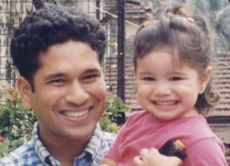 Sachin Tendulkar Throwback Photo With Sara