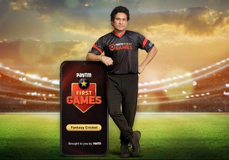 Sachin Tendulkar as Paytm brand Ambassador