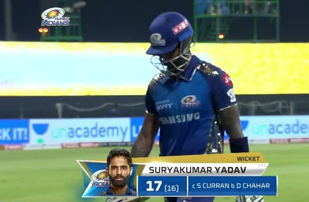 Suryakumar Yadav wicket