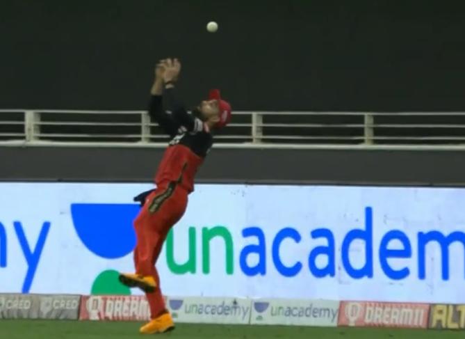 Virat Kohli drop a catch of KL Rahul