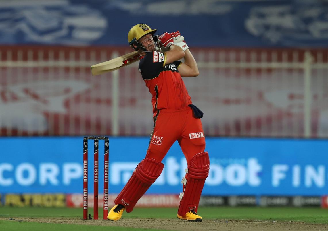 IPL 2020 RCB vs KKR | Ab de Villiers reaches his half century in just 23 deliveries