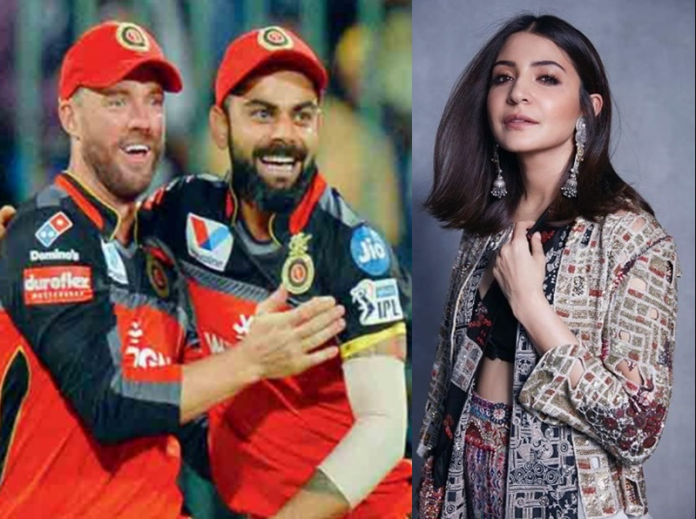 ABD captures a lovely pic of Virat Kohli and Anushka Sharma