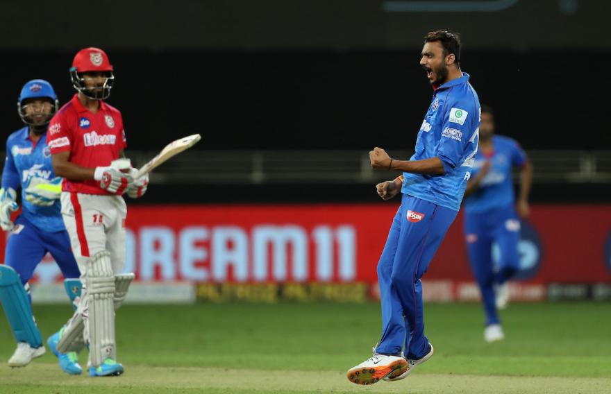 Axar dismissed KL Rahul for 15 runs