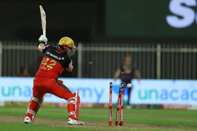 Prasidh Krishna bowled out Finch while scoring 47 runs