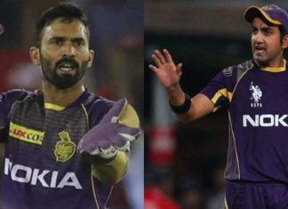 Gautham Gambhir slams Dinesh Karthik for stepping down from KKR's captaincy