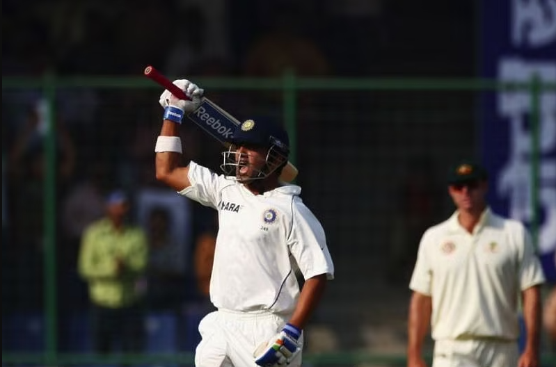 Gautham Gambhir scored 206 vs Australia at Delhi in 2008