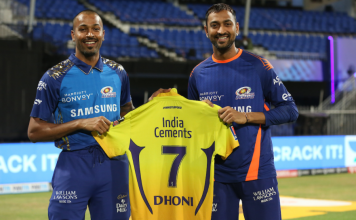 MS Dhoni retires from IPL? question rises after he hands his CSK jersey to Pandya brothers
