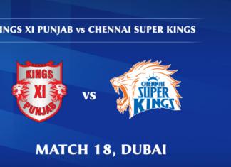 IPL 2020 KXIP vs CSK