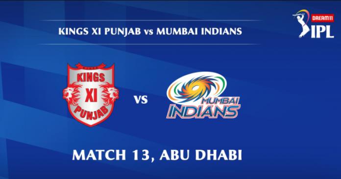 IPL 2020 KXIP vs MI