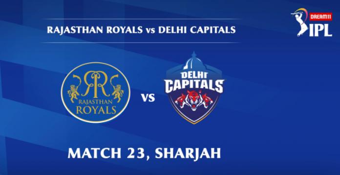 IPL 2020 RR vs DC