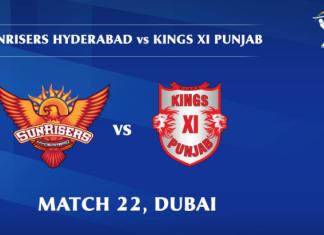 IPL 2020 SRH vs KXIP