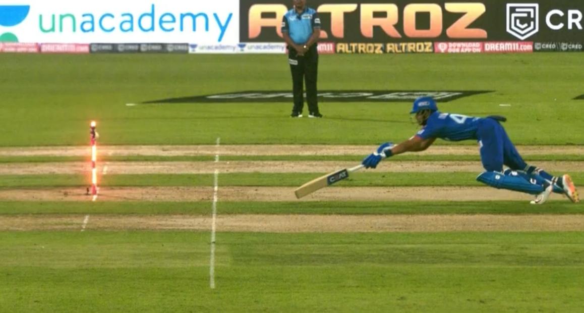 Pant dismissed by Jaiswal rocket throw