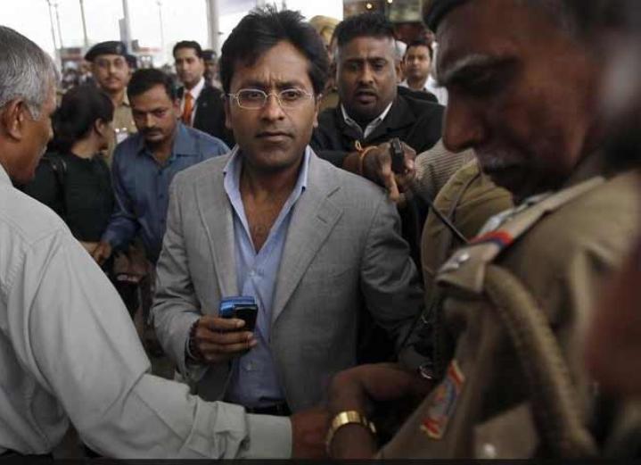 Lalit Modi suspends by BCCI