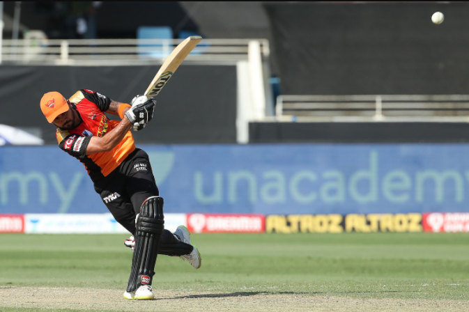 Manish Pandey secured his 17th IPL half-century off 40 deliveries