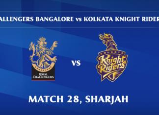 IPL 2020 RCB vs KKR