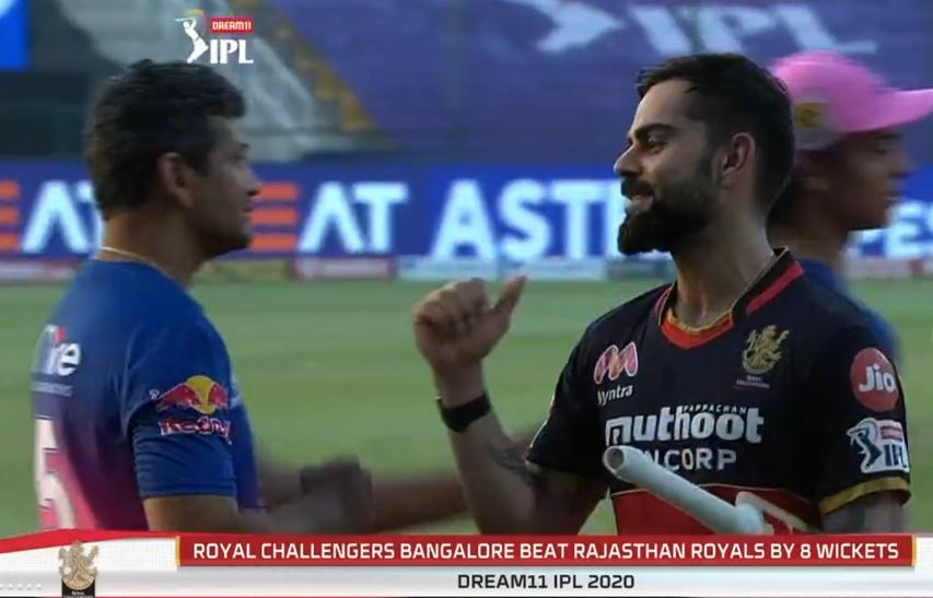 Royal Challengers Bangalore won by 8 wkts