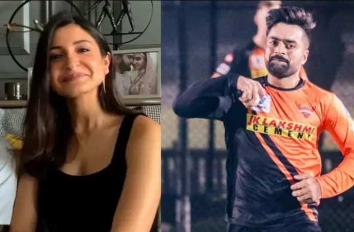 Google names Anushka Sharma as Rashid Khan wife