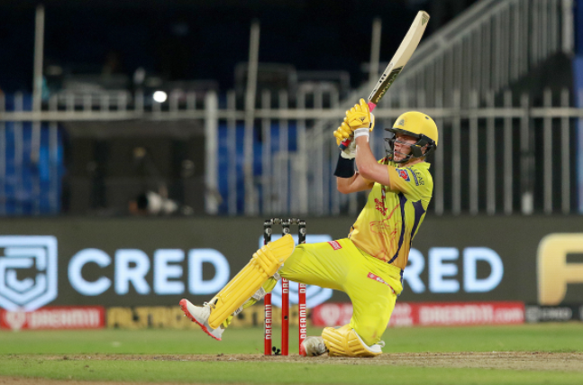 Sam Curran made his first IPL 2020 fifty