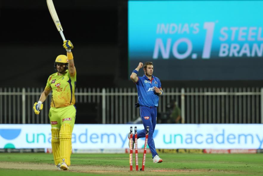 Watson dismissed for 36 runs