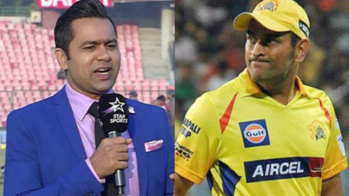 Aakash Chopra advices CSK to release Dhoni