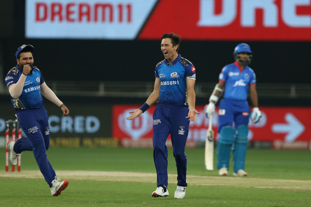Boult dismissed Stoinis and Rahane in back to back overs