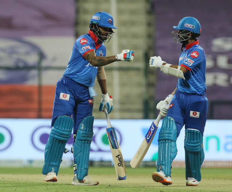 Dhawan and Rahane scored the much needed partnership