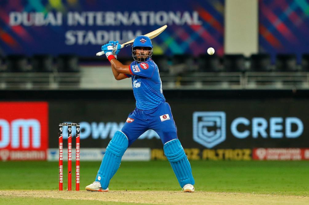 Shreyas Iyer scored his third half-century of the season