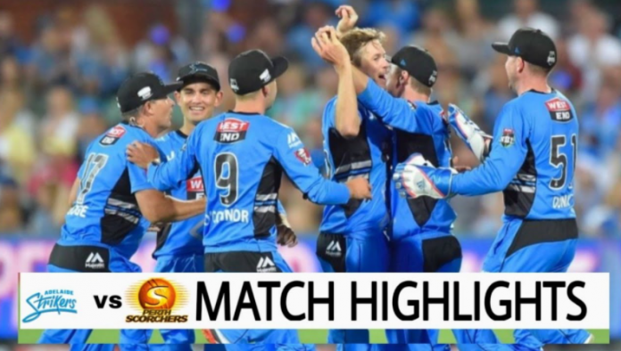 BBL 2020 Perth Scorchers vs Adelaide Strikers Highlights