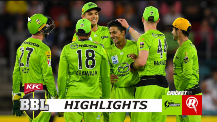 BBL 2020 Sydney Thunder vs Melbourne Renegades Highlights