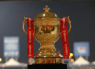 Dream11 IPL trophy