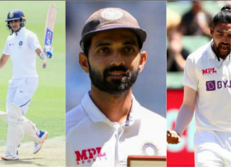Stand-in skipper Rahane praises Gill and Siraj for the victory in 2nd test vs Australia