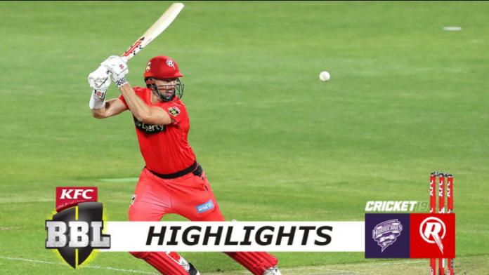 BBL 2020 Hobart Hurricanes vs Melbourne Renegades Highlights