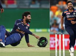 Shardul Thakur has replaced for Jadeja in T20I series vs Australia