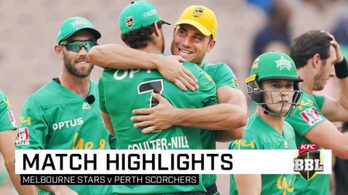 Perth Scorchers vs Melbourne Stars Highlights