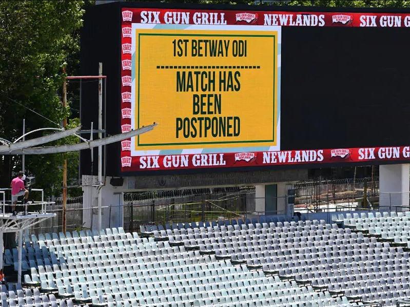 SA vs ENG 1st ODI cancelled