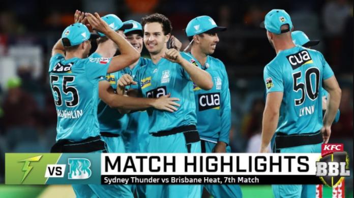 Sydney Thunder vs Brisbane Heat Highlights