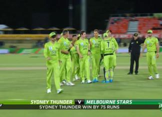 BBL 2020 Sydney Thunder vs Melbourne Stars Highlights