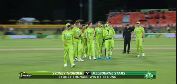 BBL 2020 Sydney Thunder vs Melbourne Stars Highlights