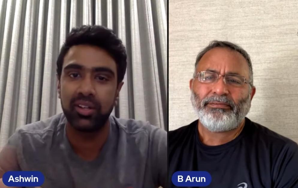 Bharat Arun chat with Ashwin
