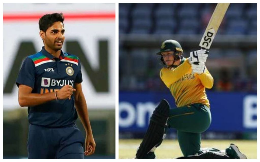 Bhuvneshwar Kumar(India) Lizelle Lee(South Africa) won the ICC player of the Month Award for March 2021
