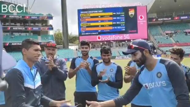 Bumrah Hands in the cap for Navdeep Saini