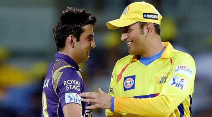 Gambhir praises Dhoni and CSK
