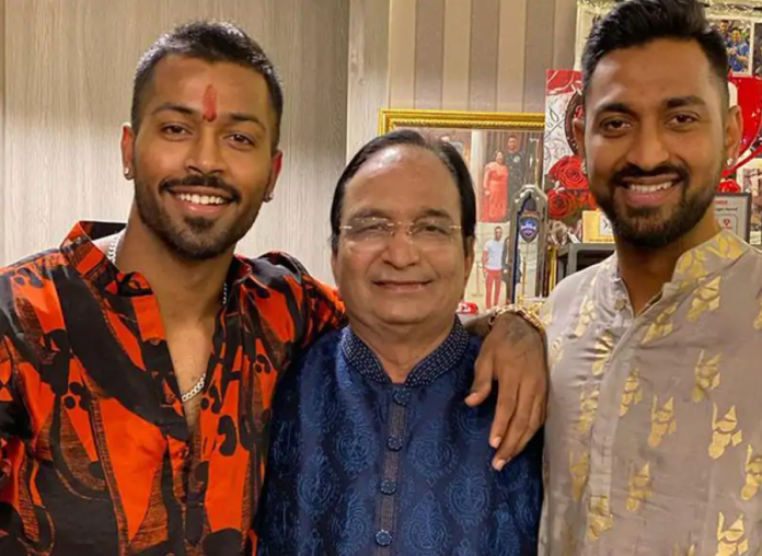 Hardik Pandya Father passed away