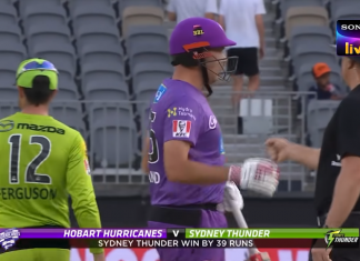 Hobart Hurricanes vs Sydney Thunder Highlights