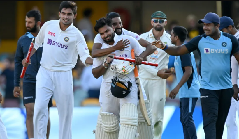 India beat Australia in Gabba and lifts the series trophy