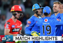 BBL 2020 Melbourne Renegades vs Adelaide Strikers Highlights