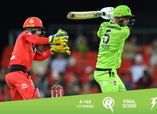 BBL 2020 Melbourne Renegades vs Sydney Thunder Highlights