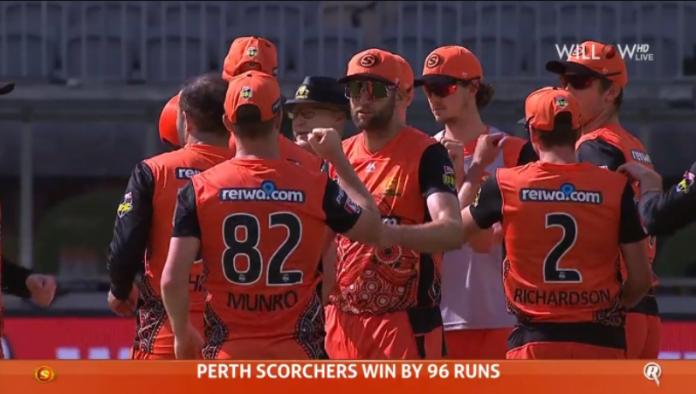 Perth Scorchers vs Melbourne Renegades Highlights