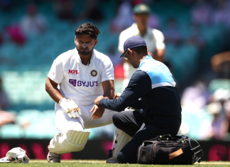 Rishabh Pant injured in 3rd Test vs Australia