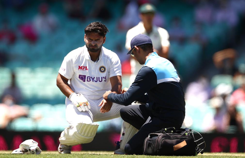 Rishabh Pant injured in 3rd Test vs Australia